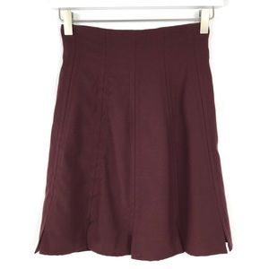 NWT Christian Lacroix Bazar Brown Red Skirt 36